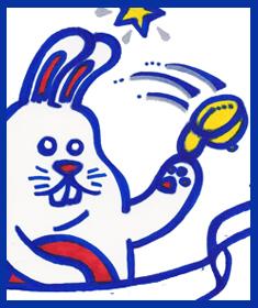 Jeff Rahuba Bunny Hats Off!