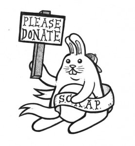 Donate SCRAP bunny