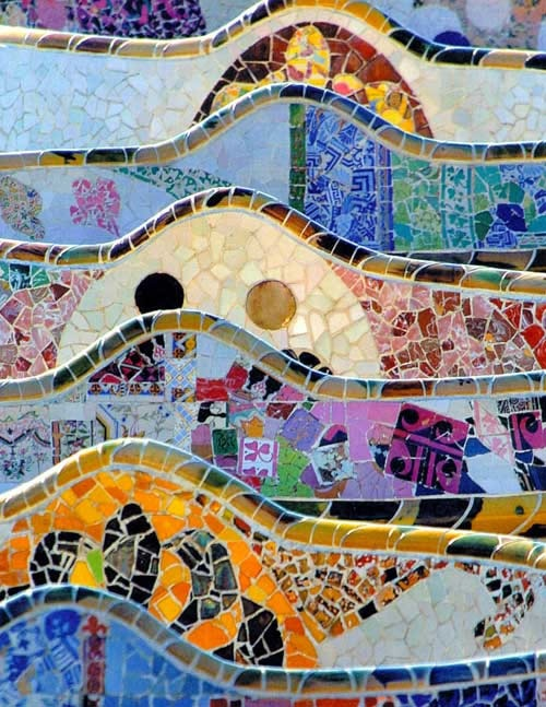 Parc Guell wall