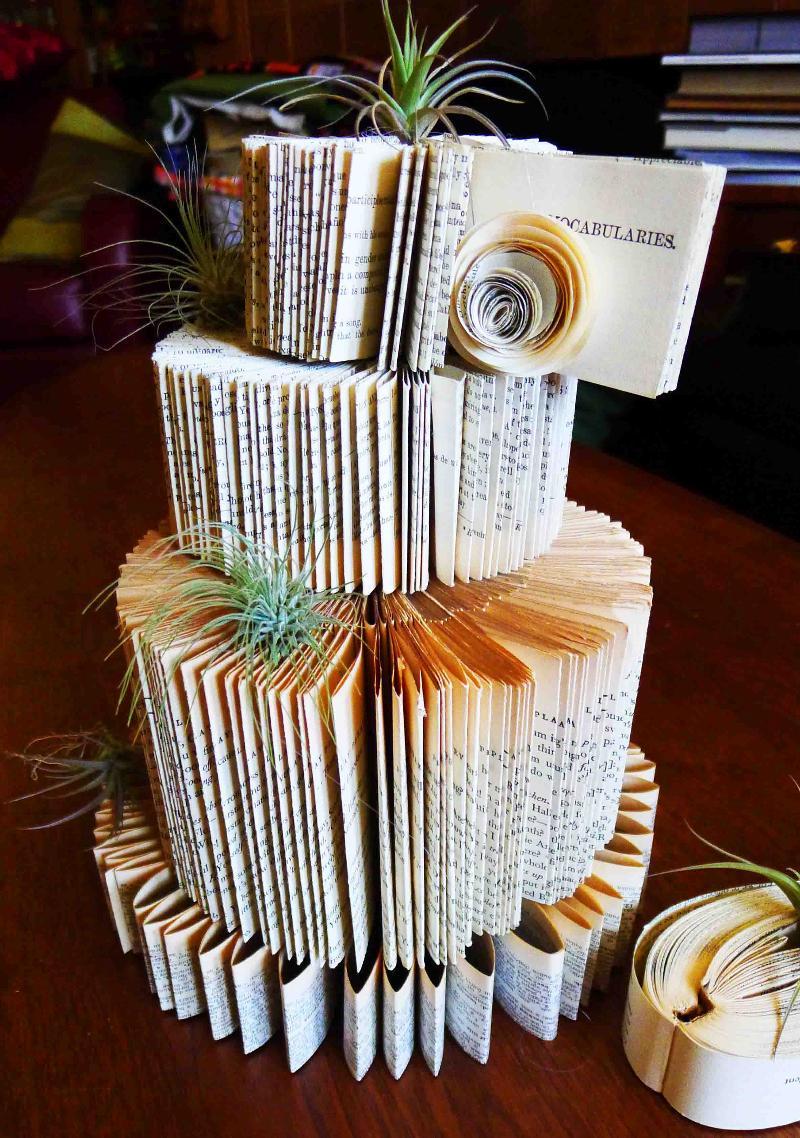 Monica Lee Paper Cake
