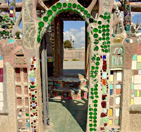 Watts Tower entrance