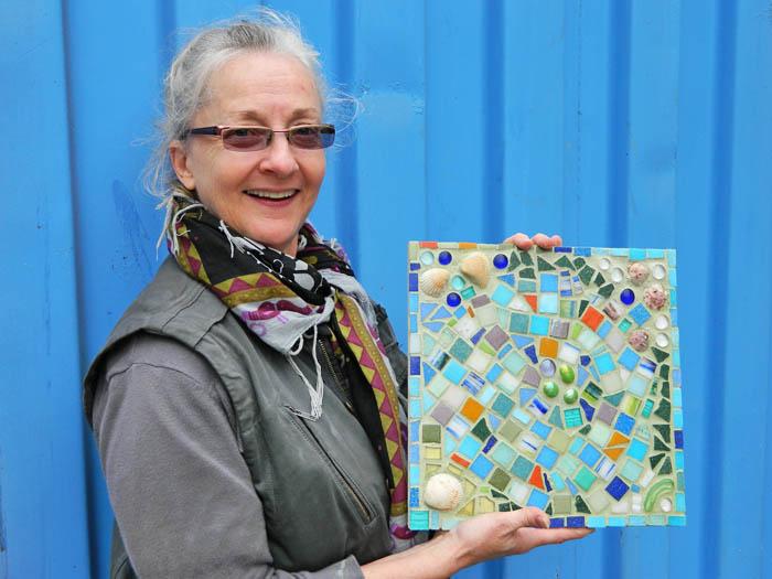 SCRAP mosaic workshop
