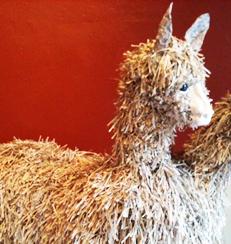 Courtney Cerruti Llama Head