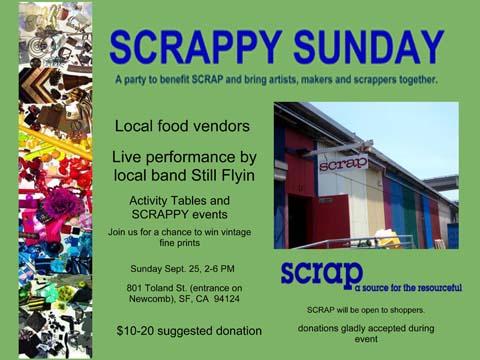 SCRAPPY Sunday