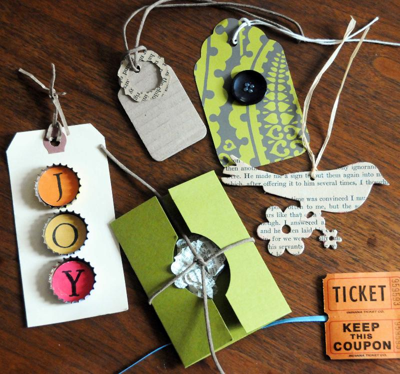 Monica Lee gift tags