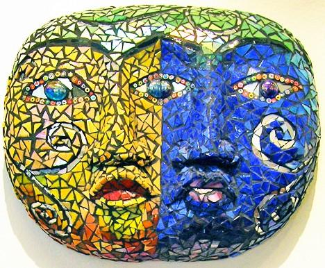 Jane Schafgans Mosaic Mask