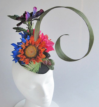 SCRAP Fascinator by Aiko Cuneo