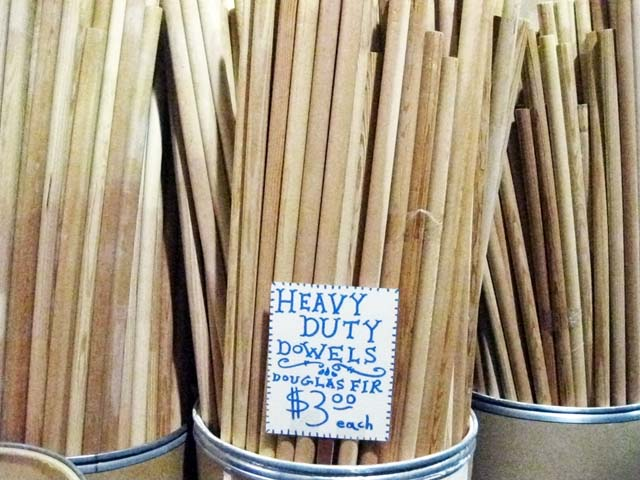 SCRAP Wood Rods