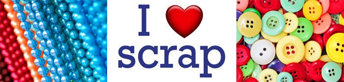 I Heart SCRAP Banner
