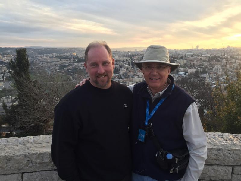 Tim in Israel