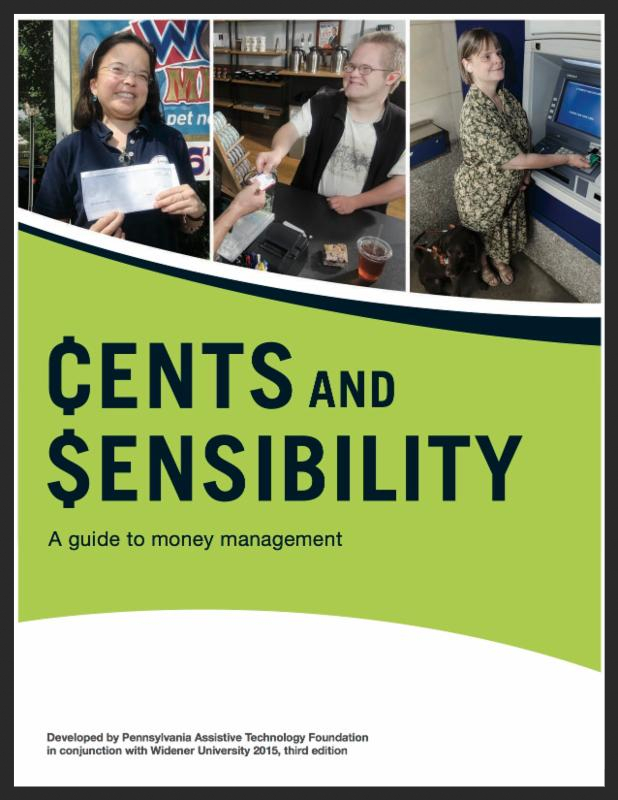 Cover of the booklet, Cents and Sensibility.
