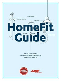 Cover of booklet AARP HomeFit Guide