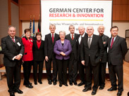 Dignitaries at the GCRI opening