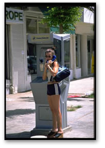 Woman on Payphone