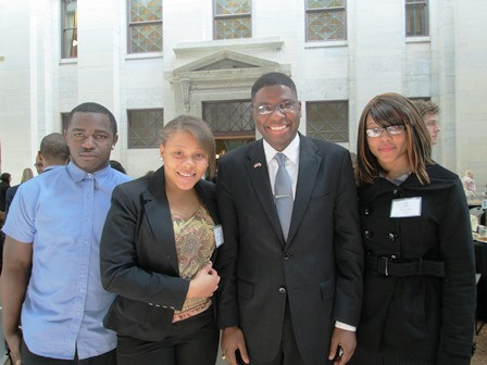 West Park Youth at the State House