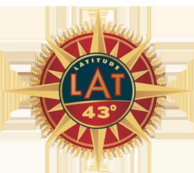 Lat 43 logo 250
