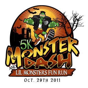 2011 Monster Dash logo