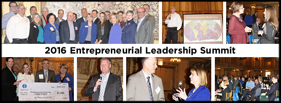 2016 Entrepreneurial Leadership Summit Photo Collage