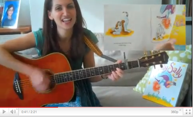 Suzi sings Silly Sally by Audrey Wood