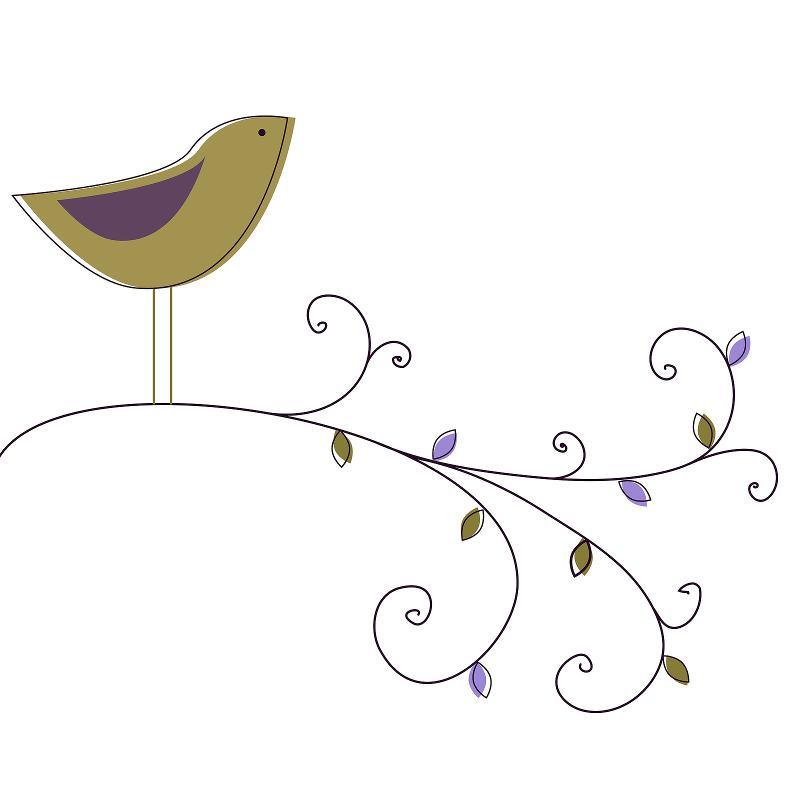 Garden Notes Logo Bird