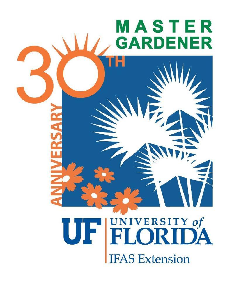 30th Master Gardener logo