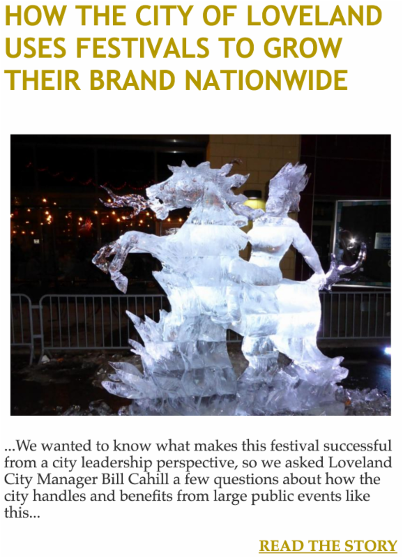 How the City of Loveland Uses Festivals to Grow Their Brand Nationwide
