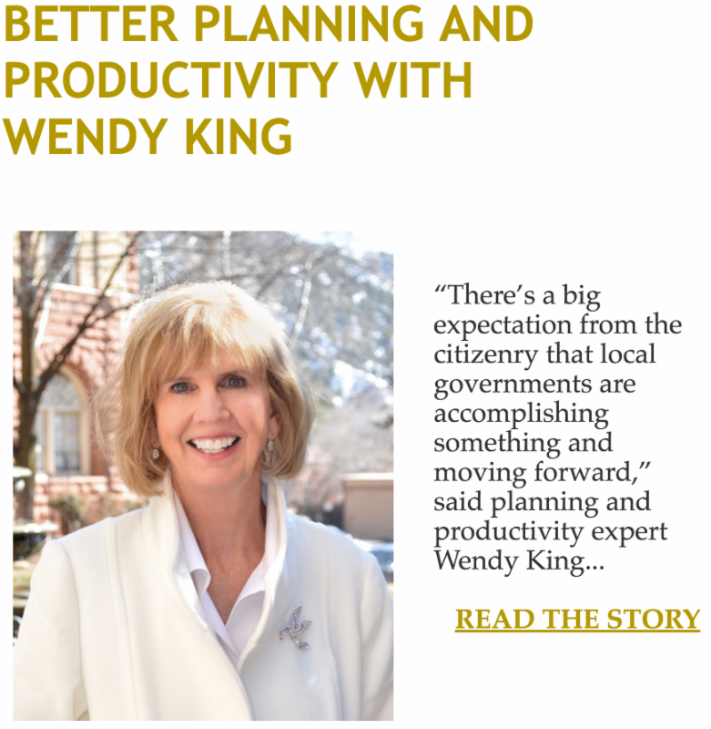 Better Planning and Productivity with Wendy King
