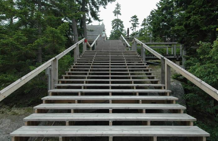 main staircase at Hastack
