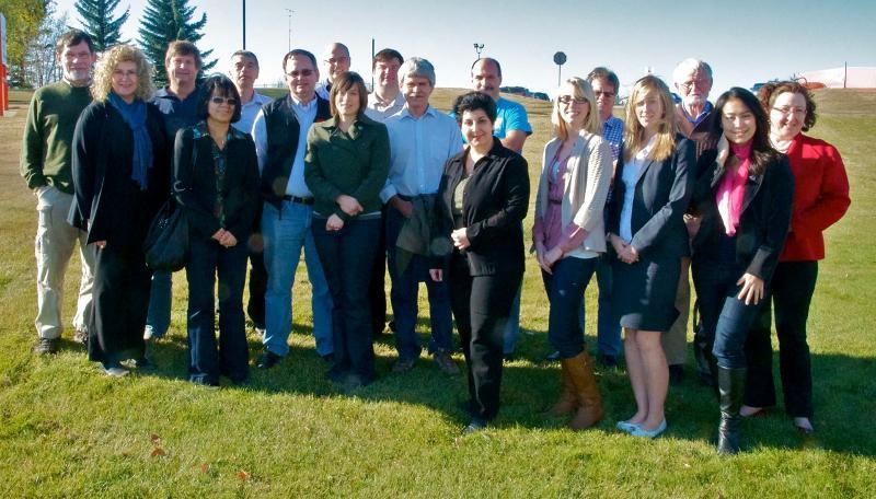 Red Deer meeting 2011 group photo