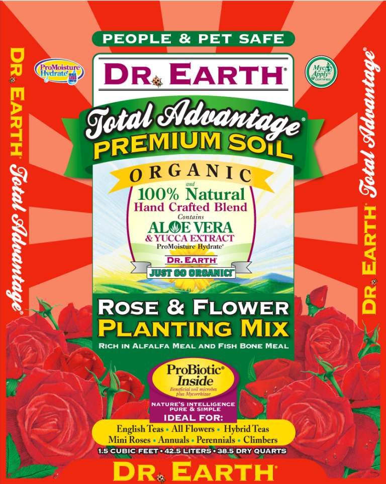 Dr Earth Rose & Flower Planting Mix edited