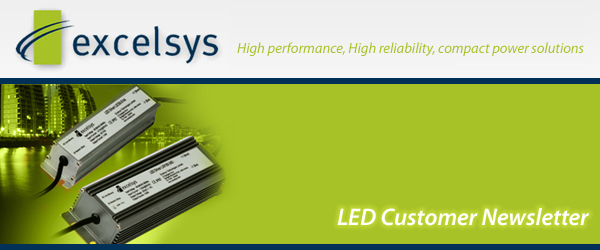 LED Newsletter header