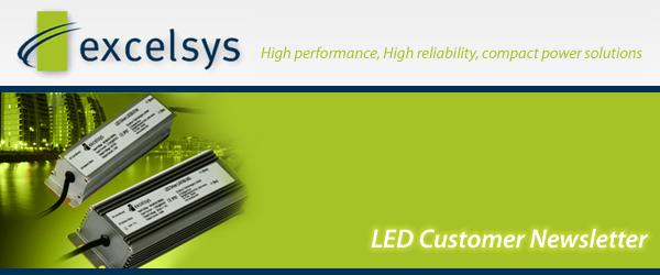 LED Newsletter header