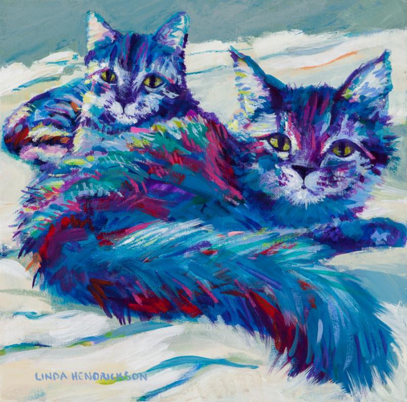 Linda Hendrickson, Original Acrylic Painting