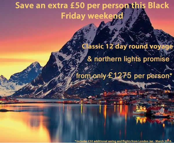 Hurtigruten Black Friday Offers