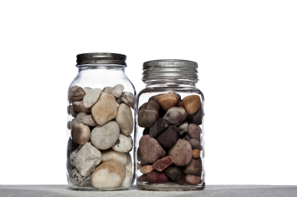 Stones in Jars