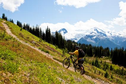 bike up hill