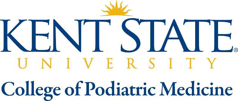 Kent State University College of Podiatric Medicine Logo