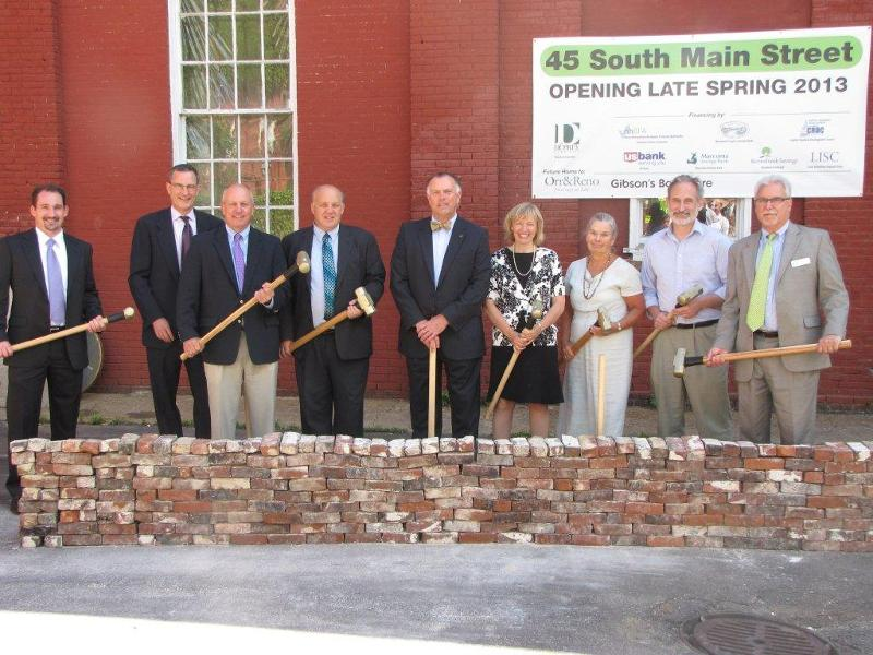 Duprey 45 South Main Street Groundbreaking