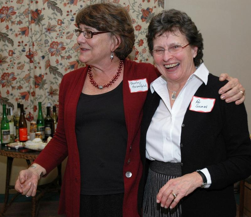 Founders: Shirley Haberfeld and Pat Sussman