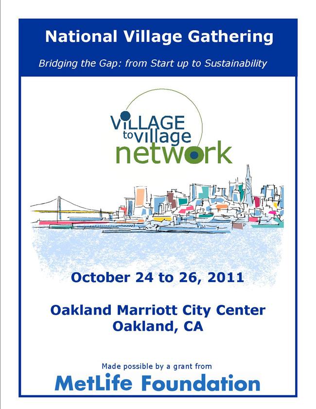 Village Gathering in Oakland, 10-11