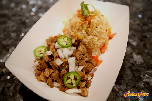 Senor Sisig Rice Plate