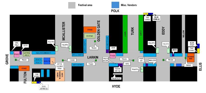 AHSC 2010 Map