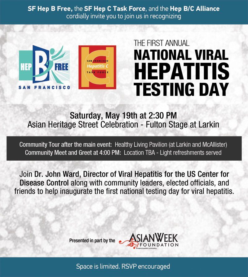Viral Hepatitis Testing Day