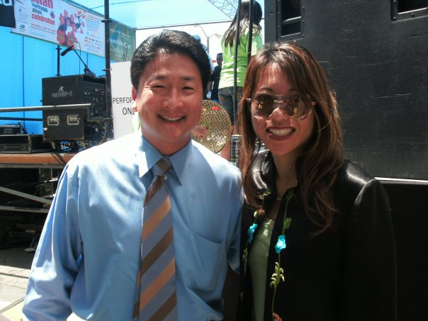 Alan Wang and Fiona Ma