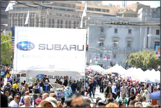 Subaru at 2012 AHSC