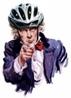 Uncle Sam Bike Helmet