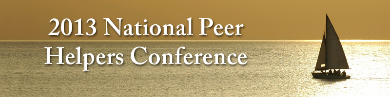 2013 National Peer Helpers Conference