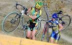 Cyclocross action shot