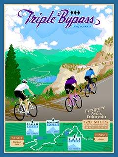 Triple Bypass 2009 logo
