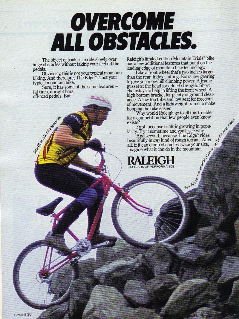 Jim Olsen-Raleigh ad